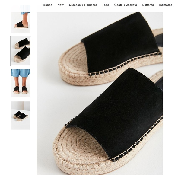 4230fcf99fc5 Urban Outfitters Mimi Espadrille Slides